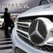 Neue Modelle beflügeln Geschäfte bei Daimler (Foto)