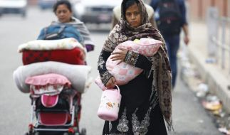 Das Erdbeben hat zahllose Familien in Nepal obdachlos gemacht. (Foto)