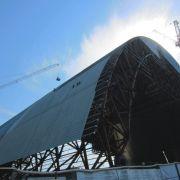 Neue Tschernobyl-Schutzhülle ist fast finanziert (Foto)