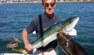 Dan Carlin kämpfte mit einem Seelöwen um seine Beute. (Foto)