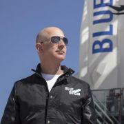 Amazon-Chef Bezos gelingt Raketentest für Weltraum-Projekt (Foto)