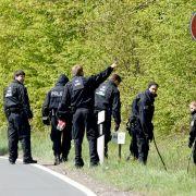 Polizei überwacht Radrennen-Strecke trotz Absage (Foto)