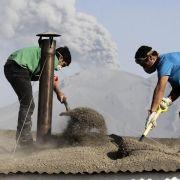 Neuer Asche-Ausbruch von Vulkan Calbuco in Chile (Foto)