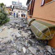 Überschwemmungen nach Dauerregen im Südwesten und der Schweiz (Foto)