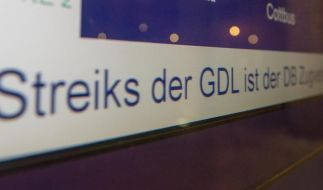 GDL kündigt sechstägigen Bahnstreik im Personenverkehr an (Foto)