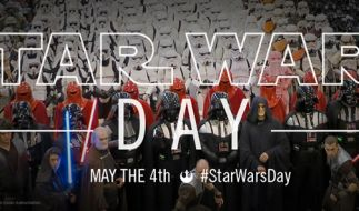 """Überall auf der Welt wird am 4. Mai der """"Star Wars Day"""" zelebriert. (Foto)"""