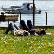 Heißester Tag des Jahres von Gewittern überschattet (Foto)