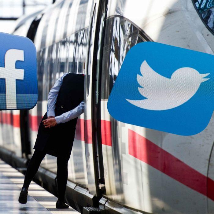 Genervte DB-Kunden verteilen Twitter-Spott (Foto)
