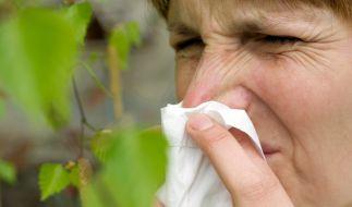 Wieso manche Menschen an Heuschnupfen erkranken, manche nicht, ist immer noch nicht gänzlich erforscht. (Foto)