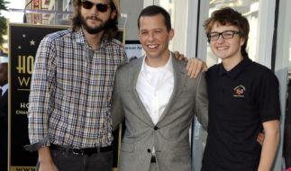 """Die Stars der Serie """"Two and a Half Men"""". (Foto)"""