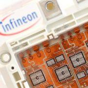 Infineon legt kräftig zu (Foto)
