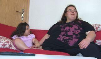 Erst vor Kurzem erfuhr Katrin, dass sie an einem seltenen Gendefekt leidet, der ein Sättigungsgefühl verhindert. (Foto)