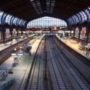 Züge im Personenverkehr stehen still (Foto)
