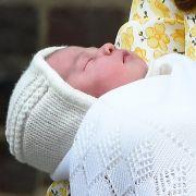 So süß: Prinzessin Charlotte Elizabeth Diana wurde am 2. Mai 2015 geboren.