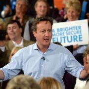 Britische Unterhauswahl: Kopf-an-Kopf-Rennen bis zum Schluss (Foto)