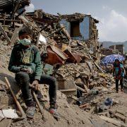 Wohl halbe Million Häuser in Nepal zerstört oder beschädigt (Foto)