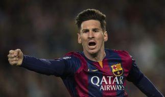 Lionel Messi war DER Mann im Halbfinal-Hinspiel der Champions League gegen Bayern München. (Foto)