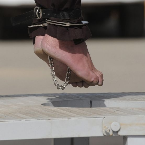 Im Todeskampf: So grauenvoll laufen Hinrichtungen ab (Foto)