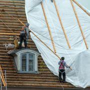 Nach Tornado:Akute Gefahrenstellen in Bützow beseitigt (Foto)