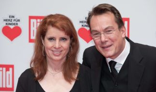 Monica Lierhaus und Rolf Hellgardt haben sich getrennt. (Foto)