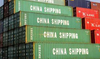 Chinas Außenhandel bricht ein (Foto)