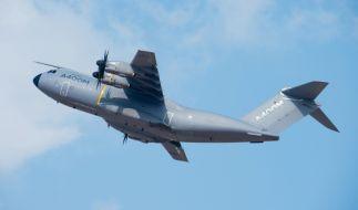 Ein A400M Transportflugzeug ist in der Nähe von Sevilla auf einem Testflug abgestürzt. (Foto)