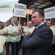 Lokführer kündigen nach Rekordstreik bei der Bahn «Pause» an (Foto)