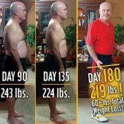 28 Kilo weniger! Amerikaner isst sechs Monate nur Fast Food (Foto)