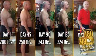 Der Lehrer John Cisna verlor innerhalb von sechs Monaten fast 30 Kilo, dabei ernährte er sich ausschließlich von McDonald's. (Foto)