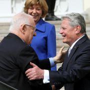 Deutschland und Israel betonen Freundschaft (Foto)