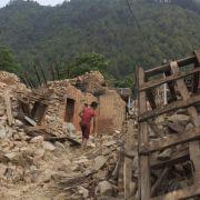 Gewaltiges Nachbeben erschüttert Nepal (Foto)