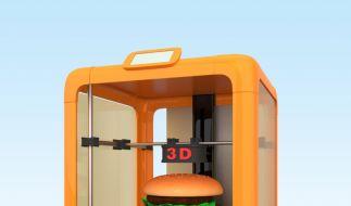 Nahrung aus dem 3D-Drucker könnte bald unser Leben verändern. (Foto)