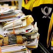 Bundesweit Warnstreiks bei der Post (Foto)