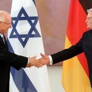 Deutschland und Israel wollen Beziehung ausbauen (Foto)