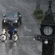 Gewitter ziehen ohne große Schäden über Deutschland hinweg (Foto)