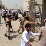 Pakistan: Gruppe mit Verbindung zum IS bekennt sich zu Anschlag (Foto)