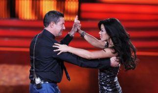"""Let's Dance""-Jurymitglied Joachim Llambi tanzt mit Fernando Brandao. (Foto)"