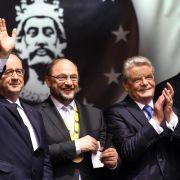 EU-Parlamentspräsident Schulz mit Karlspreis ausgezeichnet (Foto)