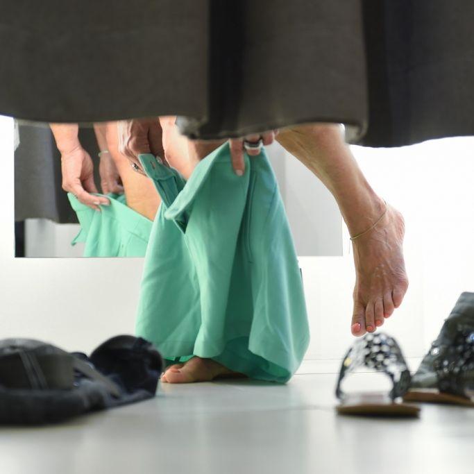 Igitt! So eklig sind deutsche Umkleidekabinen (Foto)