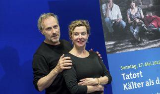 """Margarita Broich und Wolfgang Koch debütieren als Ermittler-Duo im Frankfurter """"Tatort"""". (Foto)"""