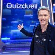 Zum Staffelfinale quizzen die Biathlon-Herren mit (Foto)