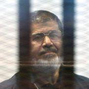 Ägyptens Ex-Präsident Mursi zum Tode verurteilt (Foto)