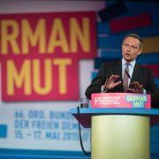 FDP wirbt mit Porno-Slogan (Foto)