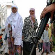 Polizistinnen müssen in Indonesien enthaltsam sein (Foto)