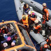 EU will im Juni Militäreinsätze gegen Schleuser starten (Foto)