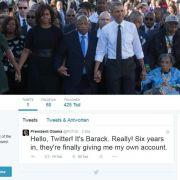 Präsident Obama wurde auf Twitter wüst beschimpft.