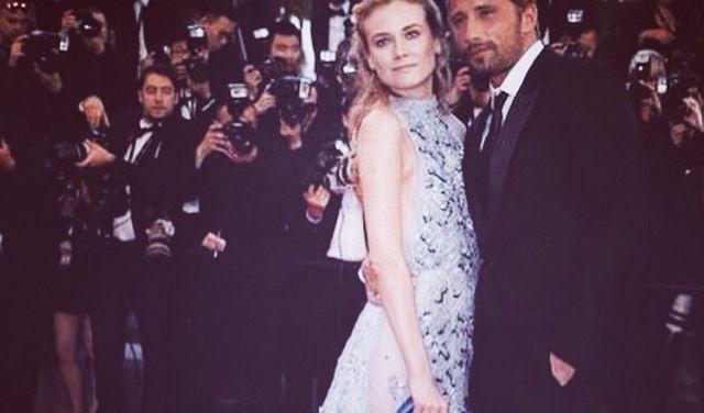 Deutschlands schönster Export Diane Kruger zeigt sich in Cannes von ihrer schönsten Seite. Mit diesem traumhaften Kleid strahlte die Troja-Schauspielerin auf dem roten Teppich. (Foto)