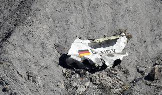 Nur noch Bruchteile desAirbus A320 waren nach dem Germanwings-Unglück auffindbar. (Foto)