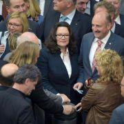 Umstrittenes Gesetz zur Tarifeinheit passiert den Bundestag (Foto)