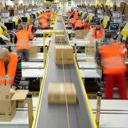 Erneuter Streik der Amazon-Mitarbeiter in Leipzig (Foto)